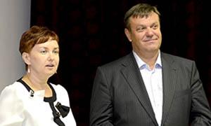 "Валерий Артамонов на презентации книги о ""Тосол-Синтезе"""